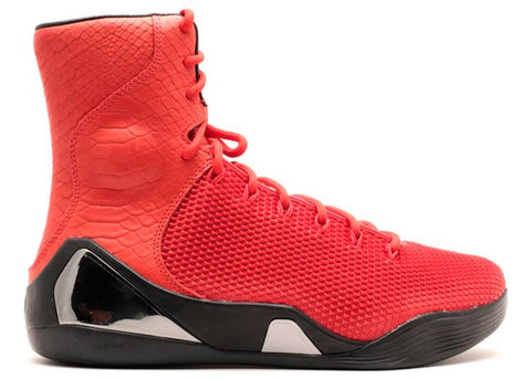"NIKE KOBE 9 High KRM EXT ""Red Mamba"" 646701 676"