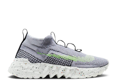 "NIKE SPACE HIPPIE 02 ""GREY VOLT"" CQ3988 002"