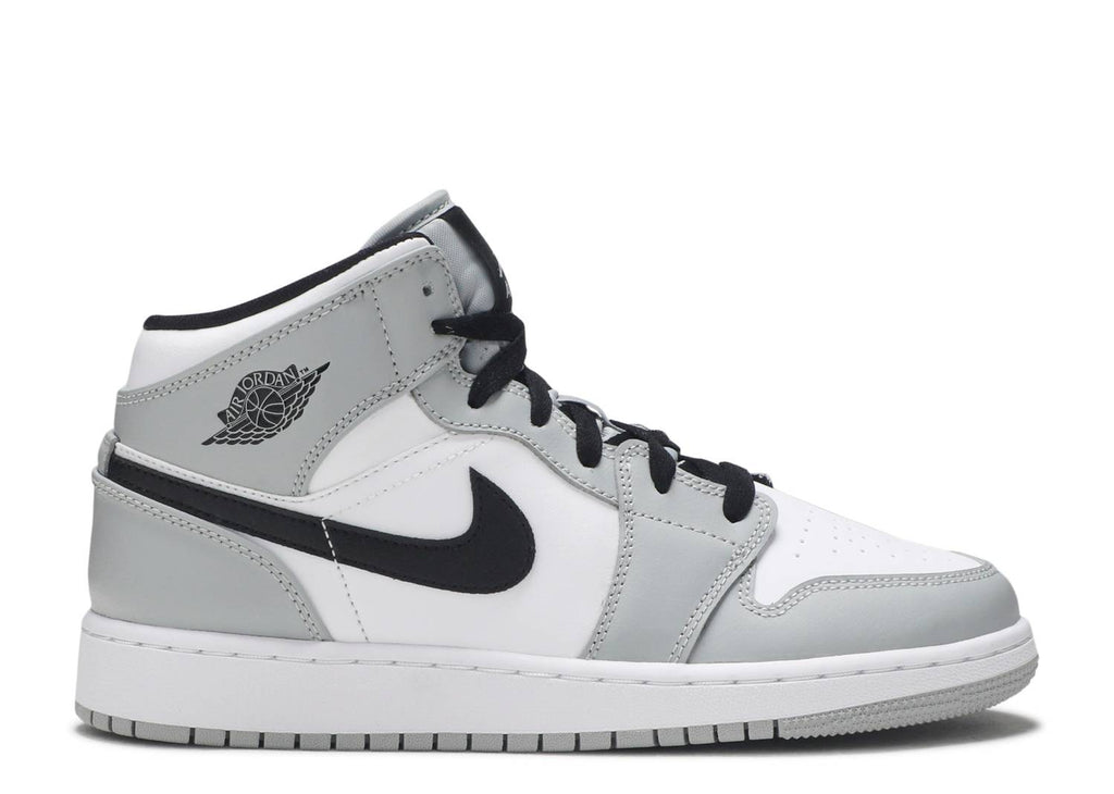 "AIR JORDAN 1 MID GS ""SMOKE GREY"" 554725 092"