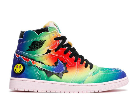 "AIR JORDAN 1 RETRO HIGH OG X J. BALVIN ""COLORES Y VIBRAS"" DC3481 900"