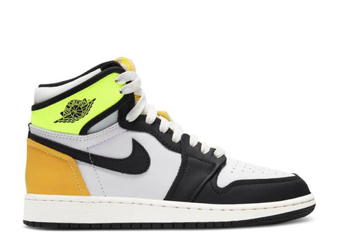 "AIR JORDAN 1 RETRO GS ""VOLTAGE YELLOW"" 575441 118"