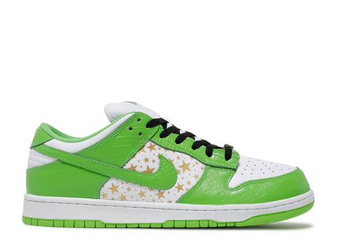 "NIKE SB DUNK LOW x SUPREME ""GREEN"" DH3228 101"