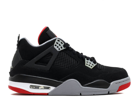 "AIR JORDAN 4 RETRO ""BRED 2012"" 308497 089"