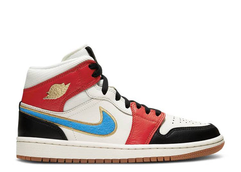 "Air Jordan 1 Mid WMNS "" LET(HER)MAN"" DC1426 100"