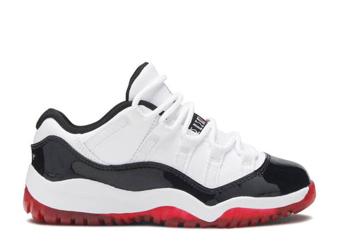 "Air Jordan 11 Retro PS ""CONCORD BRED LOW"" 505835 160"