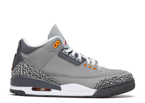 "AIR JORDAN 3 RETRO ""COOL GREY 2021"" CT8532 012"