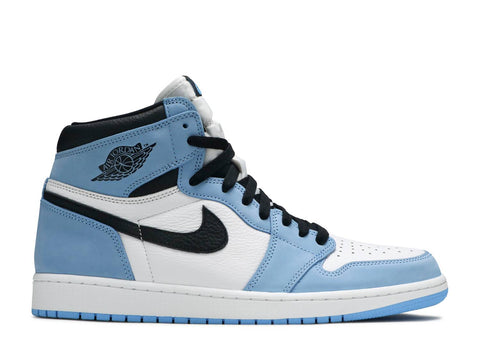 "Air Jordan 1 Retro High OG ""UNIVERSITY BLUE BLACK""  555088 134"