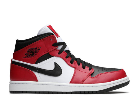 "Air Jordan 1 Mid ""CHICAGO TOE"" 554724 069"