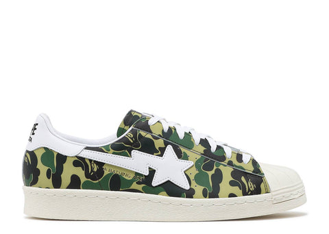 "ADIDAS  SUPERSTAR 80S x BAPE ""ABC CAMO""  GZ8981"