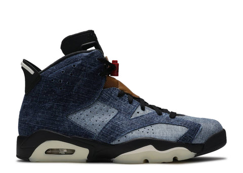 "Air Jordan 6 Retro ""Washed Denim""  CT5350 401"