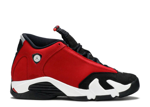 "AIR JORDAN 14 RETRO (GS) ""GYM RED TORO"" 487524 006"