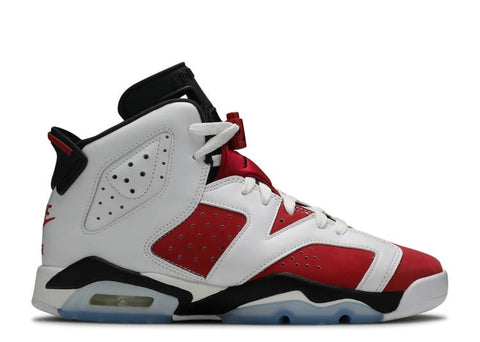"AIR JORDAN 6 RETRO GS ""CARMINE 2021"" 384665 106"