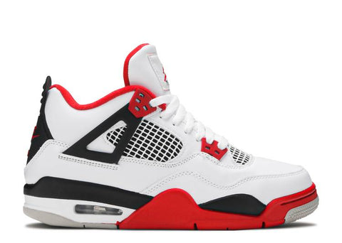 "JORDAN 4 RETRO (GS) ""FIRE RED"" 408452 160"