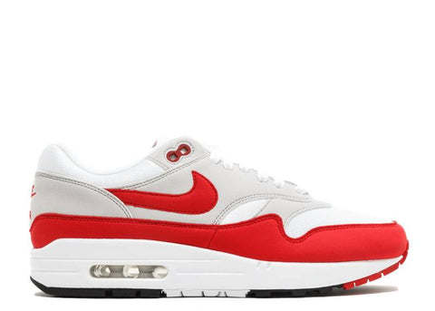 "NIKE AIR MAX 1 OG ""ANNIVERSARY"" RED 2017/2018 RE-RELEASE  908375 103"