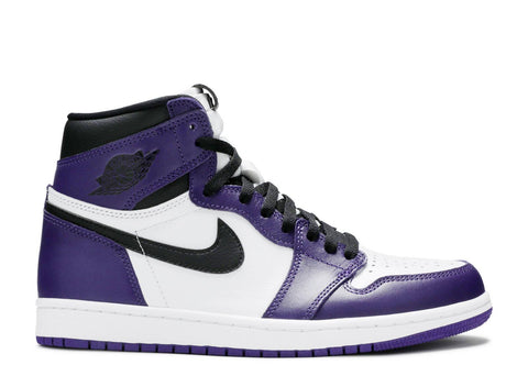 "AIR JORDAN 1 RETRO HIGH OG  ""COURT PURPLE 2.0"" 555088 500"