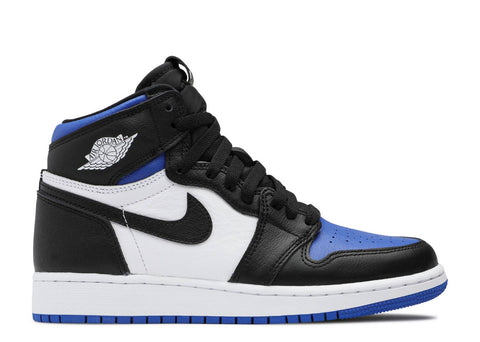 "AIR JORDAN 1 RETRO HI OG (GS) ""ROYAL TOE"" 575441 041"