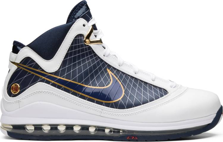 "Nike Air Lebron 7 ""CLEVELAND CAVALIERS"" 375664 111"