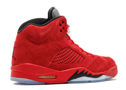 "PRE OWNED Air Jordan 5 Retro ""RED SUEDE"" 136027 602"