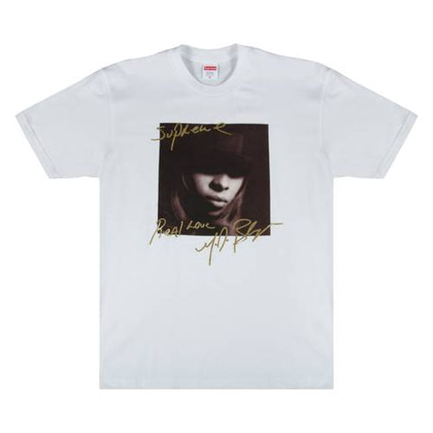 "Supreme ""Mary J. Blige"" Tee White"