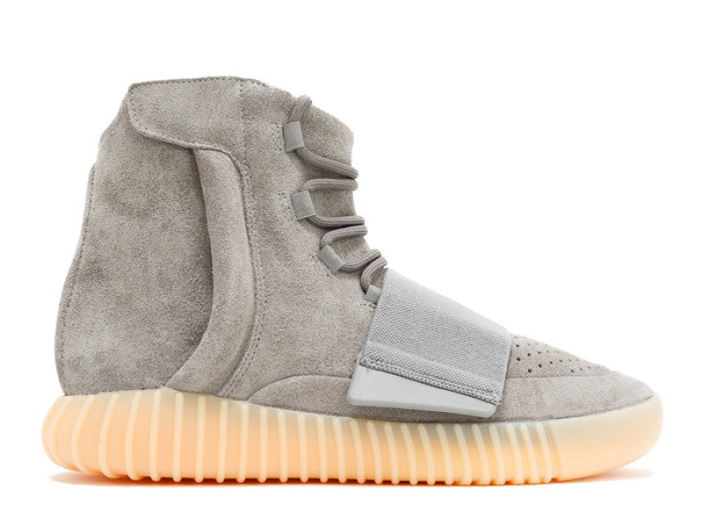 "Adidas Yeezy Boost 750 ""Light Grey"" Glow In The Dark"