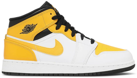 "Air Jordan 1 Mid (GS) ""UNIVERSITY GOLD"" 554725 170"