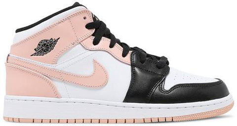 "Air Jordan 1 Mid (GS) ""CRIMSON TINT"" 554725 133"