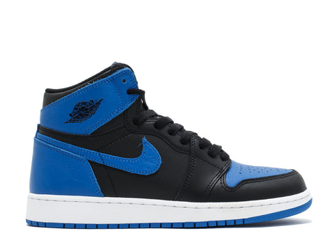 "AIR JORDAN 1 RETRO HI OG (GS) ""ROYAL 2017"" 575441 007"