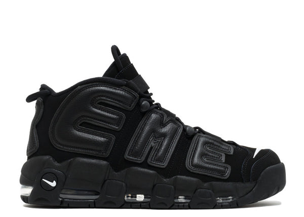 "Supreme x Nike Air More Uptempo ""Black"" 902290 001"