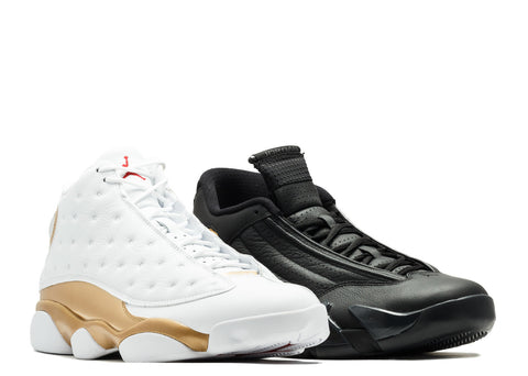 "Air Jordan 13/14 Retro ""Defining Moments Pack"" Last Shot 897563 900"