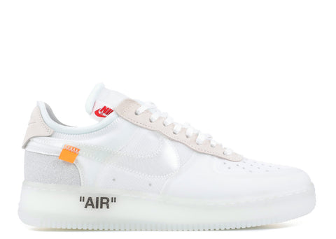 "THE 10: NIKE AIR FORCE 1 LOW OFF WHITE ""OG"" AO4606 100"