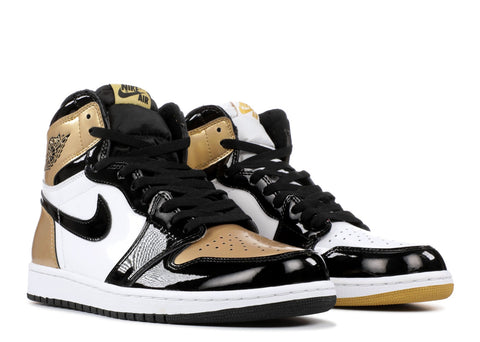 "Air Jordan 1 Retro High OG NRG ""Top 3 Gold"" 861428 001"