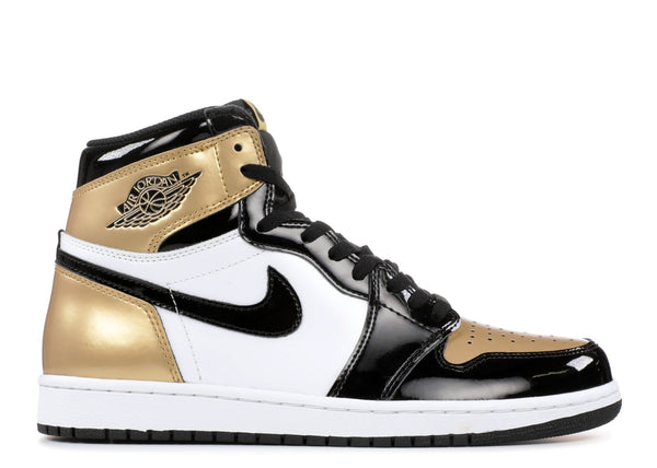 "Air Jordan 1 Retro High OG NRG ""Gold Toe""  861428 007"