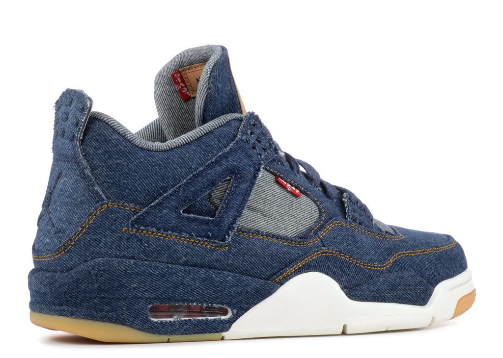 "Air Jordan 4 Retro Levi's Denim"" AO2571 401"