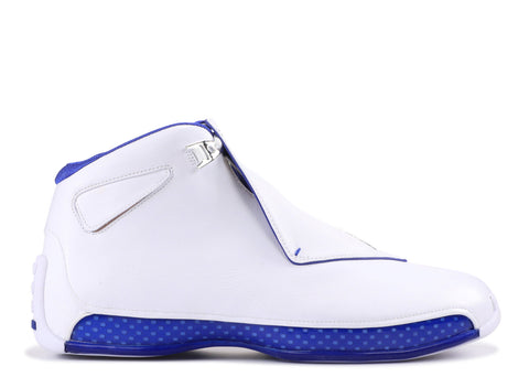 "Air Jordan 18 Retro ""White Hyper Royal"""