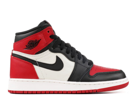 "Air Jordan 1 Retro High OG GS ""BRED TOE""  575441 610"