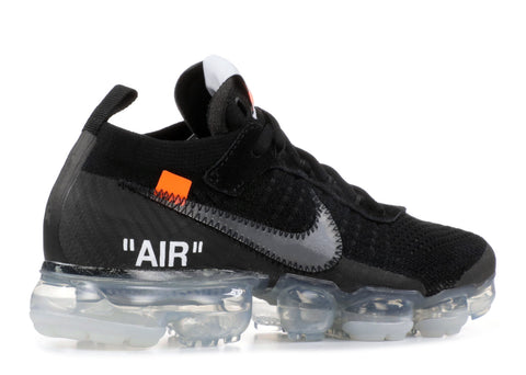 "NIKE AIR VAPORMAX FK ""OFF-WHITE 2018 BLACK"" Pre-Owned"