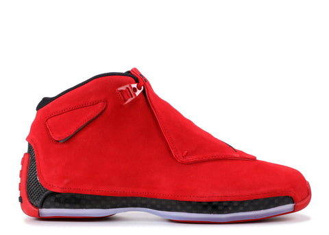 "AIR JORDAN 18 RETRO ""RED SUEDE"" AA2494 601"