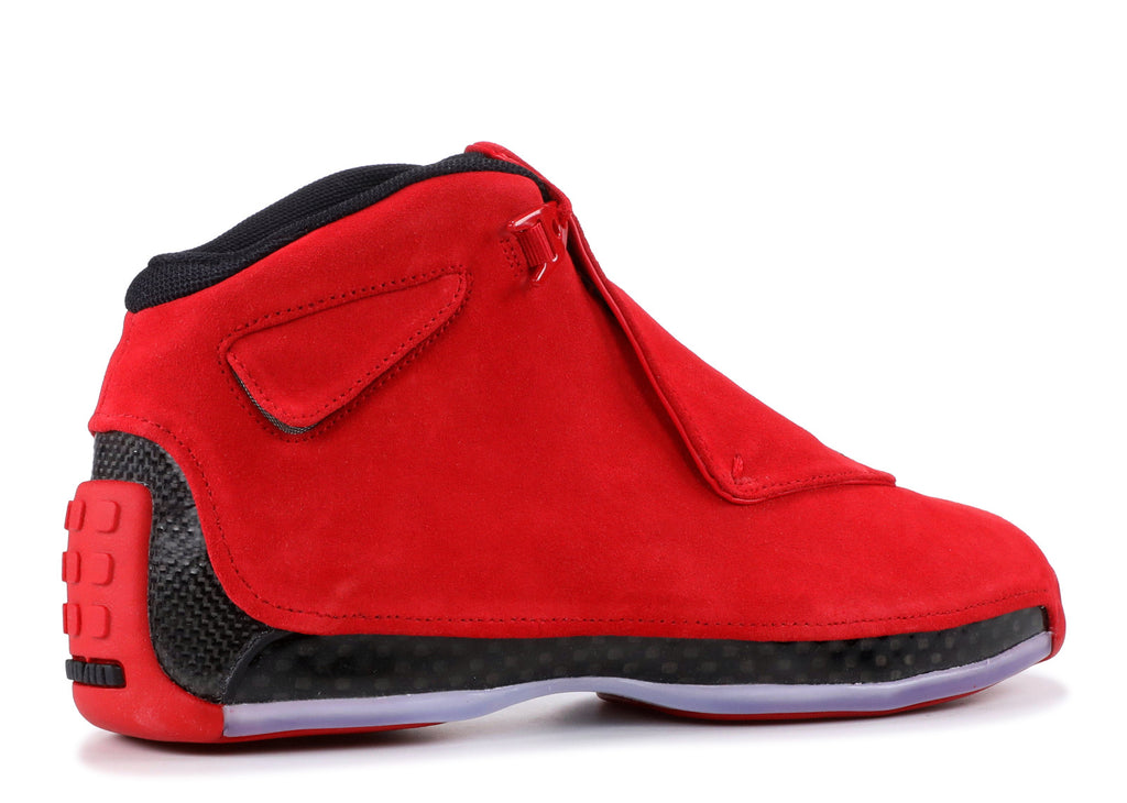 "AIR JORDAN 18 RETRO ""RED SUEDE"" AA2494 601 ."