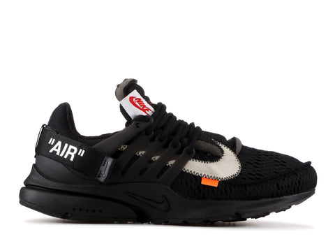 "THE 10: NIKE AIR PRESTO OFF-WHITE ""BLACK 2018"" AA3830 002"