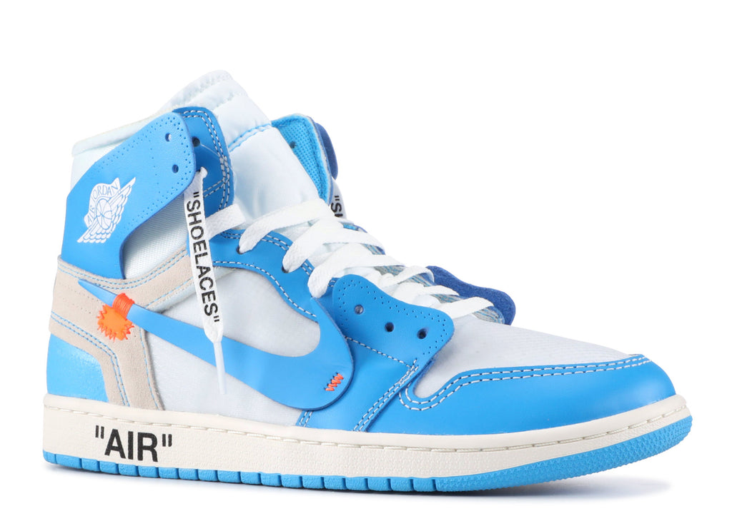 Off-White x Air Jordan 1 ''UNC'' AQ0818 148