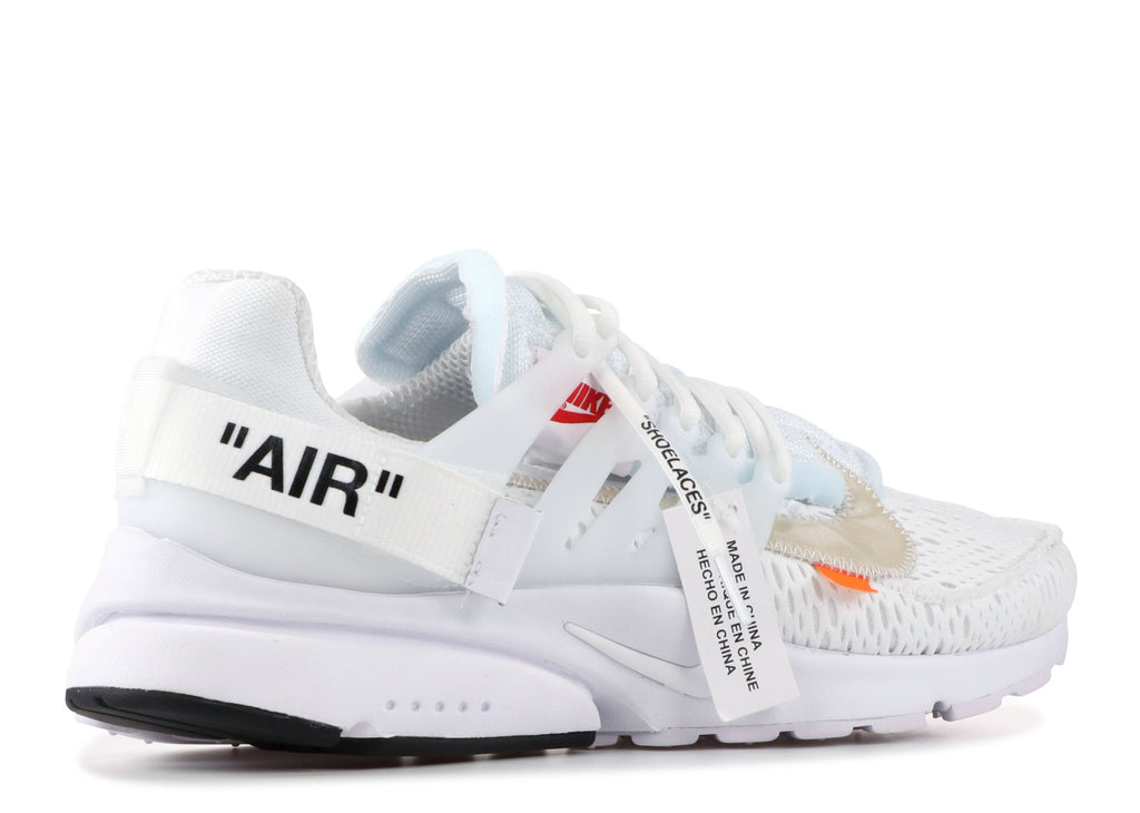 "NIKE AIR PRESTO OFF WHITE ""WHITE"" AA3830 100"