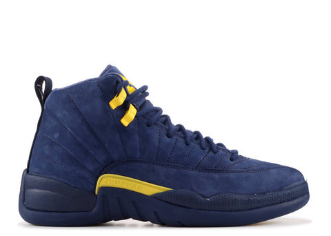 "Air Jordan 12 Retro ""MICHIGAN"" BQ3180 407"