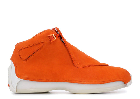 "Air Jordan 18 Retro ""ORANGE SUEDE""  AA2494 801"