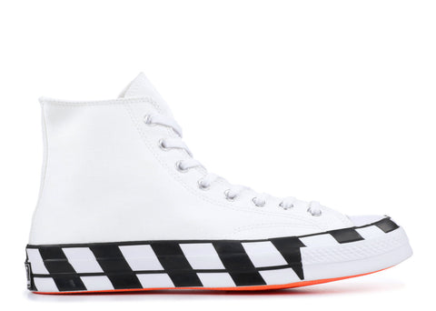 "CONVERSE CHUCK TAYLOR 70 HI ""OFF-WHITE PART 2"" 163862C"