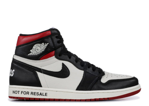 "Air Jordan 1 Retro High ""Not For Resale "" Red  861428 106"