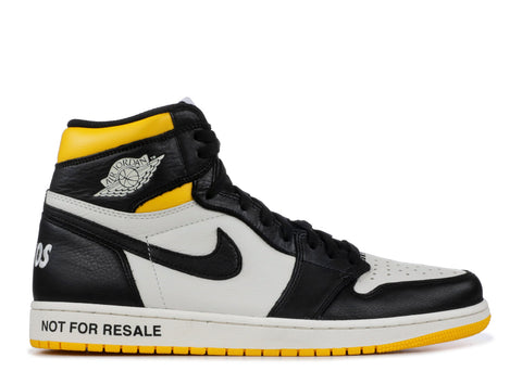 "Air Jordan 1 Retro High ""Not For Resale "" Maize  861428 107"