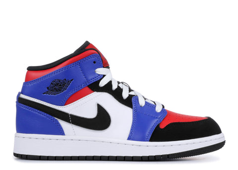 "Air Jordan 1 Mid GS ""TOP 3""  554725 124"