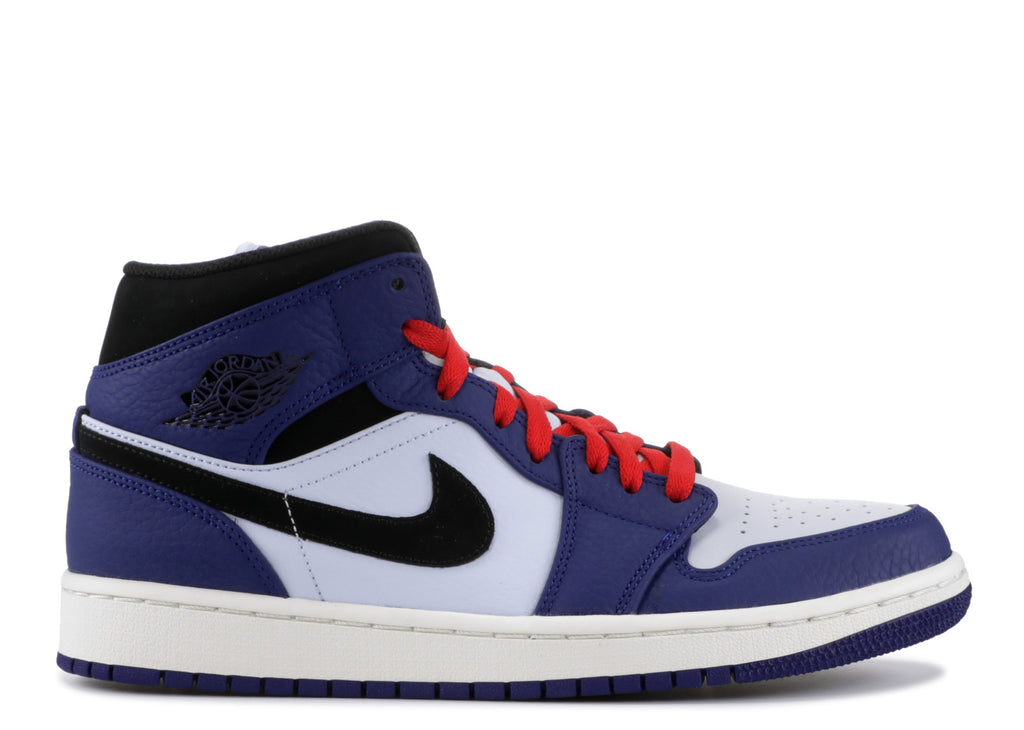 "Air Jordan 1 Mid ""DEEP ROYAL BLUE""  852542 400"