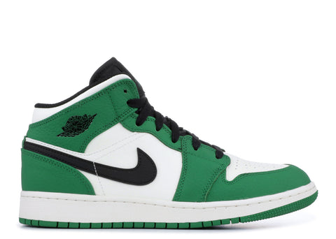 "Air Jordan 1 Mid GS ""PINE GREEN""  BQ6931 301"