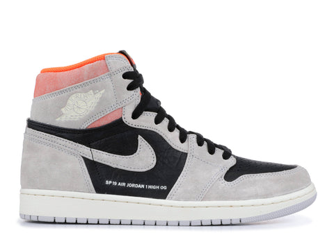 "AIR JORDAN 1 HIGH OG ""GREY CRIMSON"" 555088 018"